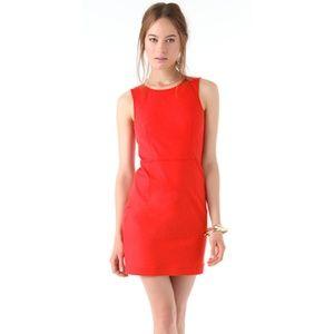 THEORY Diamita Stretch Sheath Dress
